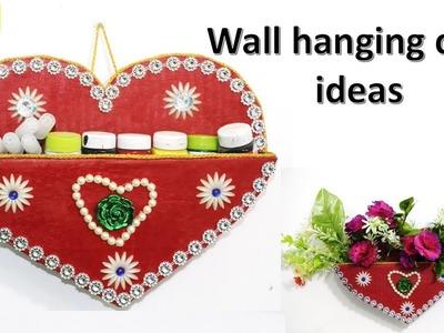 Wall hanging craft ideas || diy desk organizer || raj easy craft