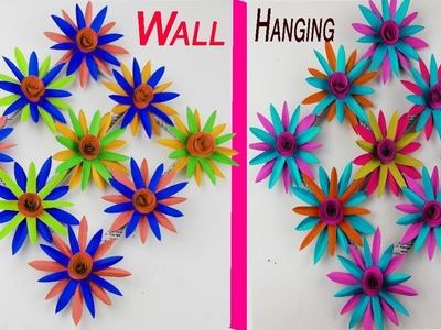 Wall hanging ideas | Home decoration ideas | Diy room decor | Paper craft ideas for kids BY #BDIY????