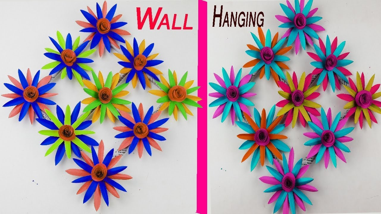 Wall Hanging Ideas Home Decoration Ideas Diy Room Decor Paper