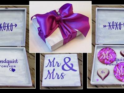 Wedding Box DIY ~ Wedding Crafts ~ Craft Klatch