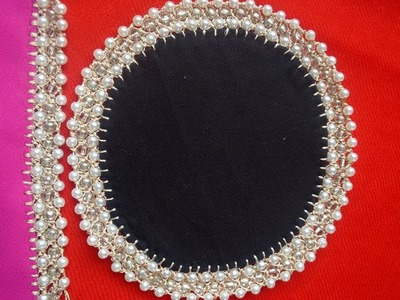 191-Bead lace without shuttle and crochet hook,part-5,(Hindi.Urdu)