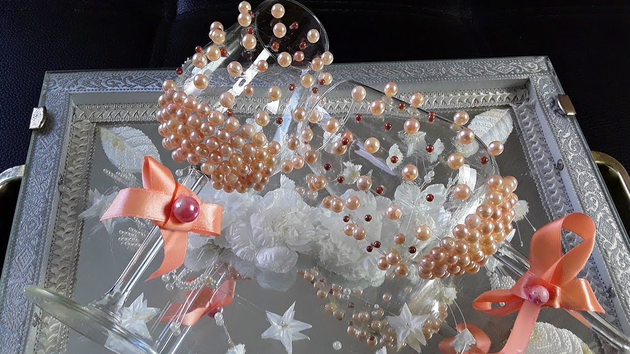 6. DIY: How To Decorate YOUR Wedding Glasses