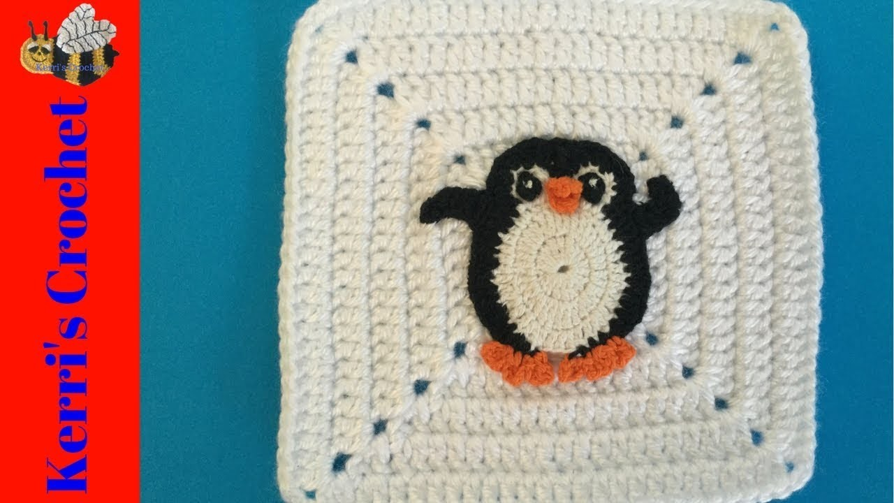 Attaching Crochet Appliques to Crochet Items Tutorial - Invisible Stitch