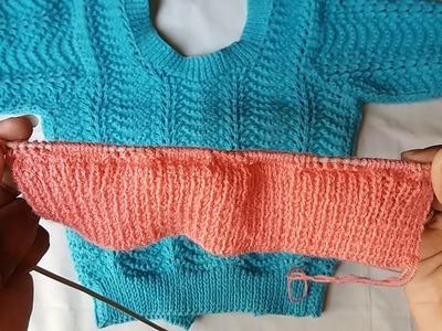 Blouse knitting design - part - 1
