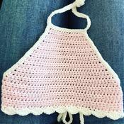 Boho crochet top