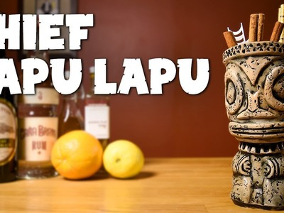 Chief Lapu Lapu - How to Make the Tiki Drink inspired by a Filipino Hero & the Sidewinder's Fang