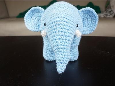 Crochet Impossible - Amigurumi Elephant (Part 2)