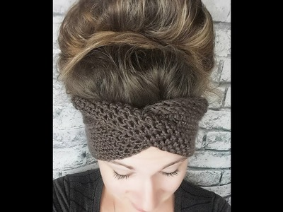 Crochet The Headband With a TWIST