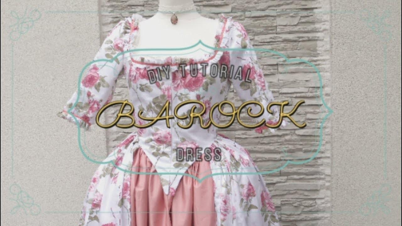 DIY BAROCK DRESS TUTORIAL - ZDROJOWA TV