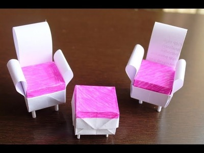 DIY - How to Make a Paper Table.