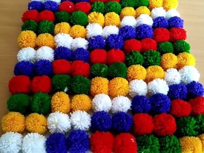 DOOR MAT MAKING FROM WOOLEN || HOW TO MAKE TABLE MAT FROM WOOLEN || DIY DOOR MAT\TABLE MAT
