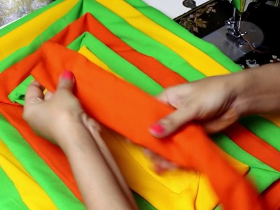 Doormat Making At Home, How to make doormat with old clothes #stitchingclass