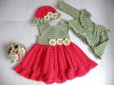 Easy hand knit skirt-dress how to make fabulous MODEL-TUTORİALS