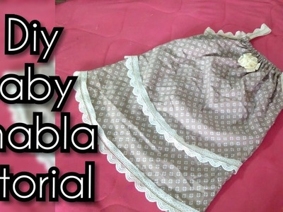 Eid frock Baby jhabla (frock) DIY| how to make baby jhabla frock cutting and stitching easy tutorial