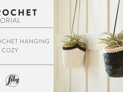 How to Crochet a Hanging Pot Cozy