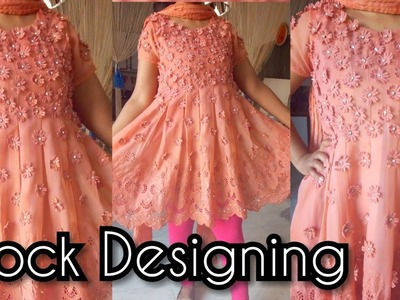 How to design a frock | frock designing | frock design