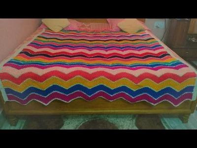 How to knitt woolen bedsheet