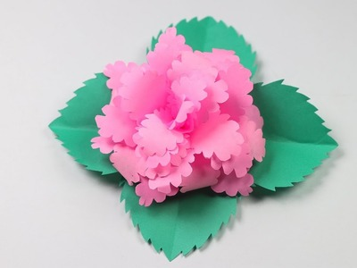Flower how to make pop up flower card how to make pop up flower how to make a beautiful flower with paper making paper mightylinksfo