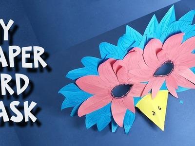 How to make a bird mask – DIY – Easy Papercraft Bird Mask