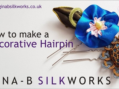 How to make a decorative hairpin