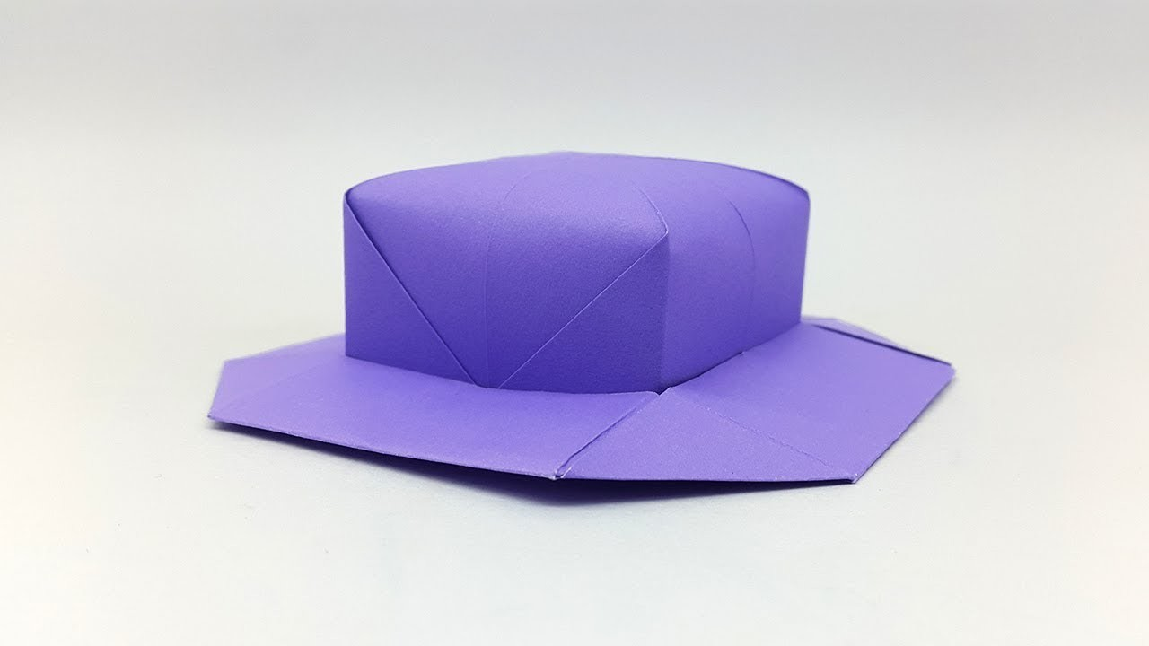 How To Make A Paper Hat Diy Origami Cap Making Simple Easy