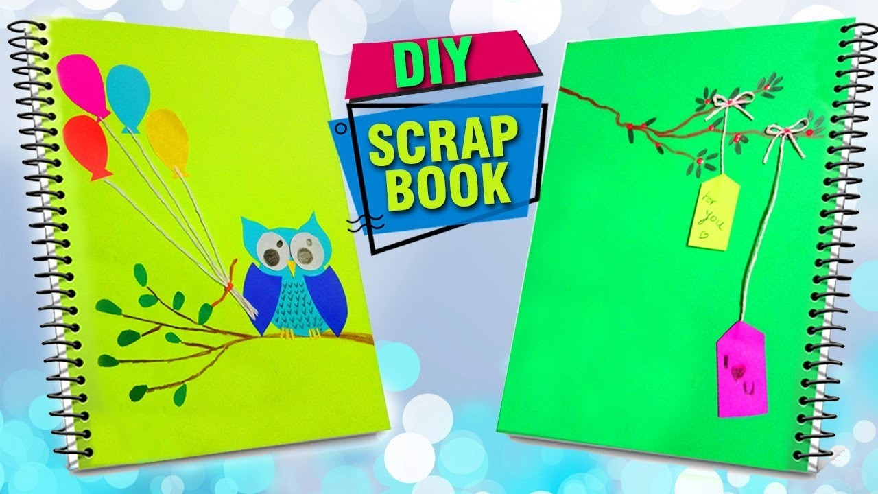 How To Make A Scrapbook Paper Crafts For Kids Summer Crafts Ideas
