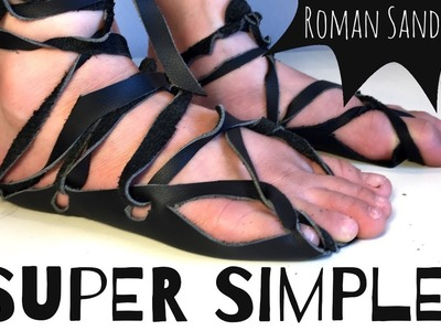 HOW TO MAKE ANCIENT ROMAN SANDALS