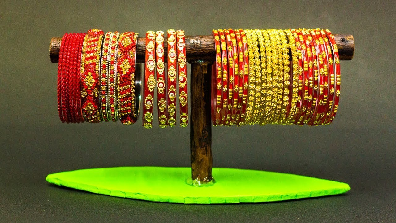 How To Make Bangles Stand