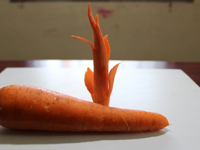 How to make Carrot Tree Carving