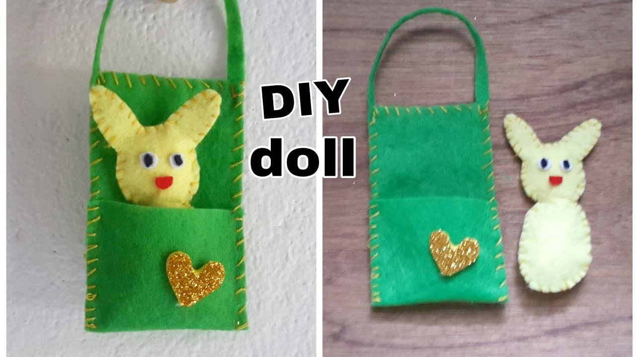 How to make Doll in a Bag.DIY cotton doll.How to make cotton dolls