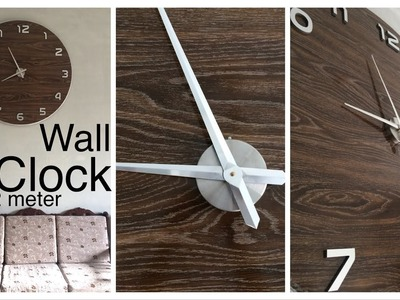 How To Make Giant Wall Clock 120cm