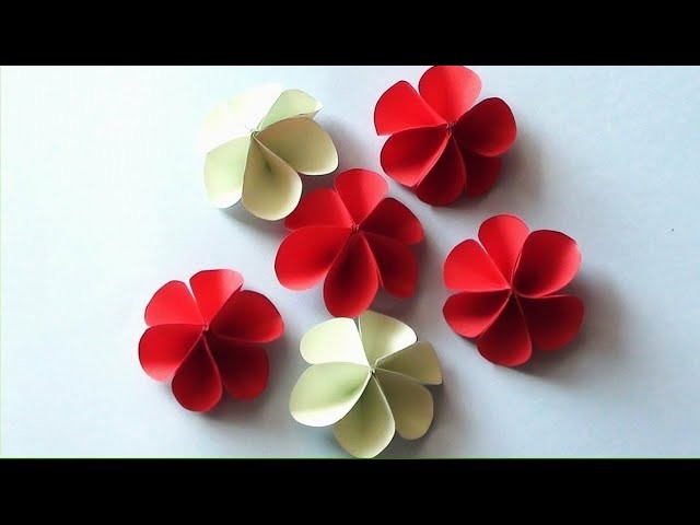 How To Make Lavender Paper Flower Easy Origami Flowers For Making