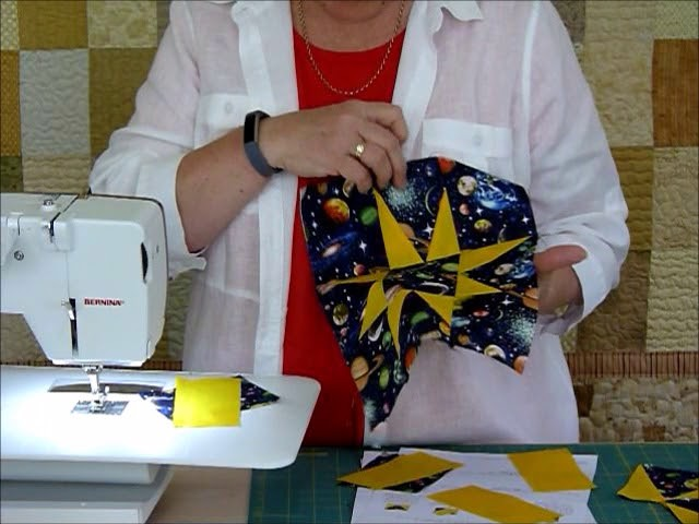 How to make Night Sky Quilt Part 1 of 3 - Quilting Tips & Techniques 223