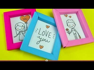 How to make photoframe by paper foldding method ???????????? by chetna gupta