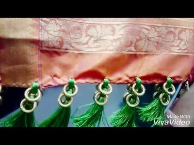 How to make saree kuchu | saree gonde | pallu latakan |