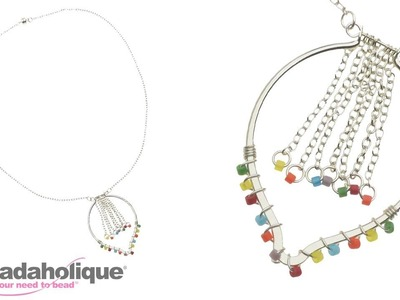 How to Make the Alejandra Necklace with Chain Fringe
