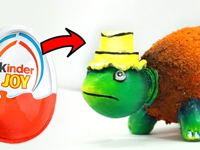 How to Reuse Waste Kinder Joy Cover to Make Cute Turtle | Best out of waste Craft Idea