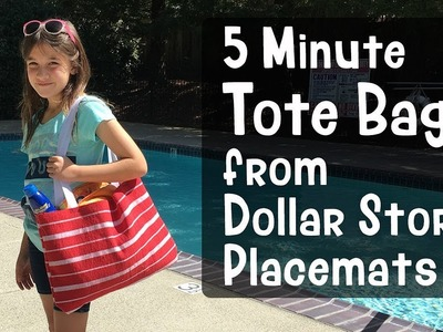 How to Sew a Placemat Tote Bag