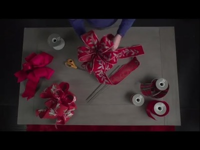 How to Tie a Bow - Holiday 2018