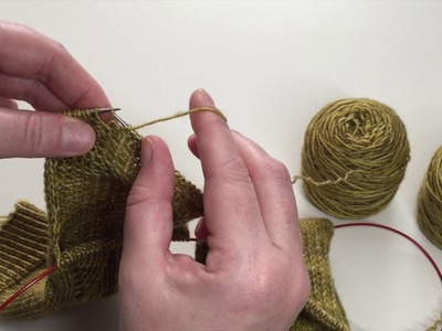 How To: Work a Gusset Heel (2aat)