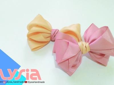 Laço Cindy ???? Cindy #Ribbon Bow ???? DIY by Elysia Handmade