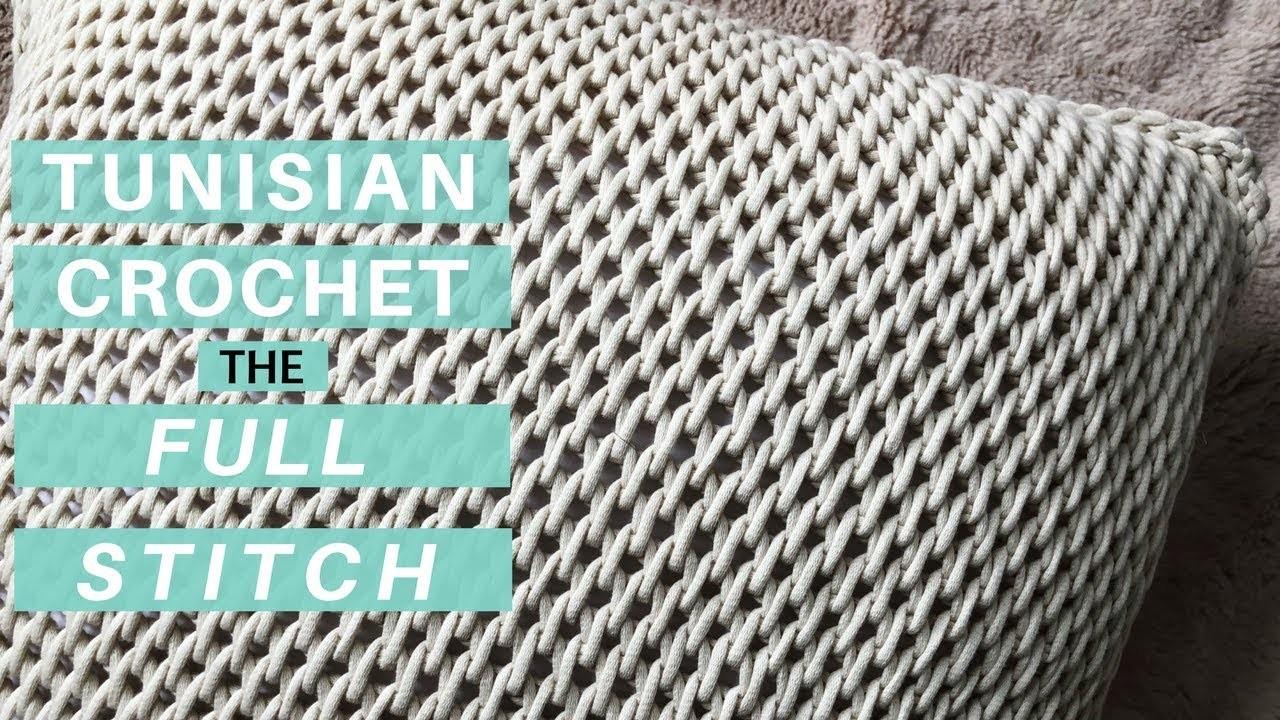 how to start tunisian knit stitch