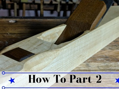 Making a Low Angle Jointer Part 2   How To Cut and Clean the Escapement