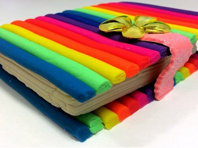 Play Doh How To Make Rainbow Color Book Play Dought Art Fun Creative For Kids