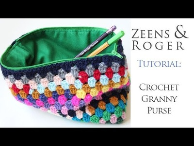 Tutorial. How to Crochet a Granny Purse