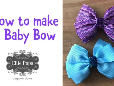 Tutorial | How to Make a Baby Bow - 1