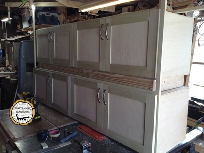 Woodworking : DIY Overlay Doors And Concealed Hinges. How-To