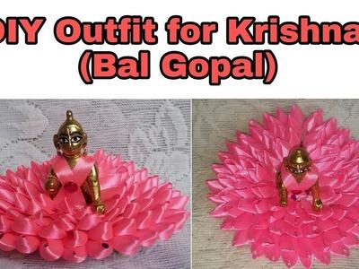 66. How to make Bal Gopal Outfit | Bal Krishna dress | (Idol number 3)