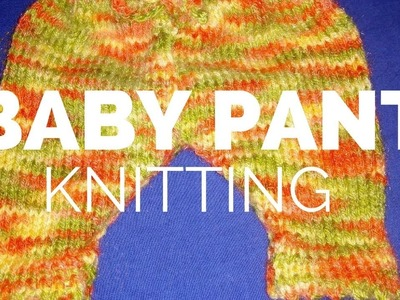 Baby pant  Knitting in Hindi | Overnappy pants knitting | Knitted Pants for kids