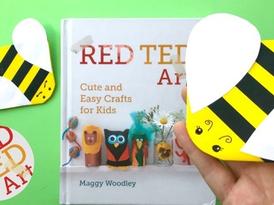 Bee Corner Bookmark DIY - Easy How to make a Corner Bookmark DIY - Bee DIY